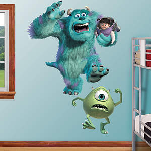 Monsters Inc. Fathead Wall Decal